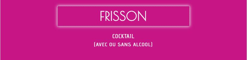 Formule Frisson